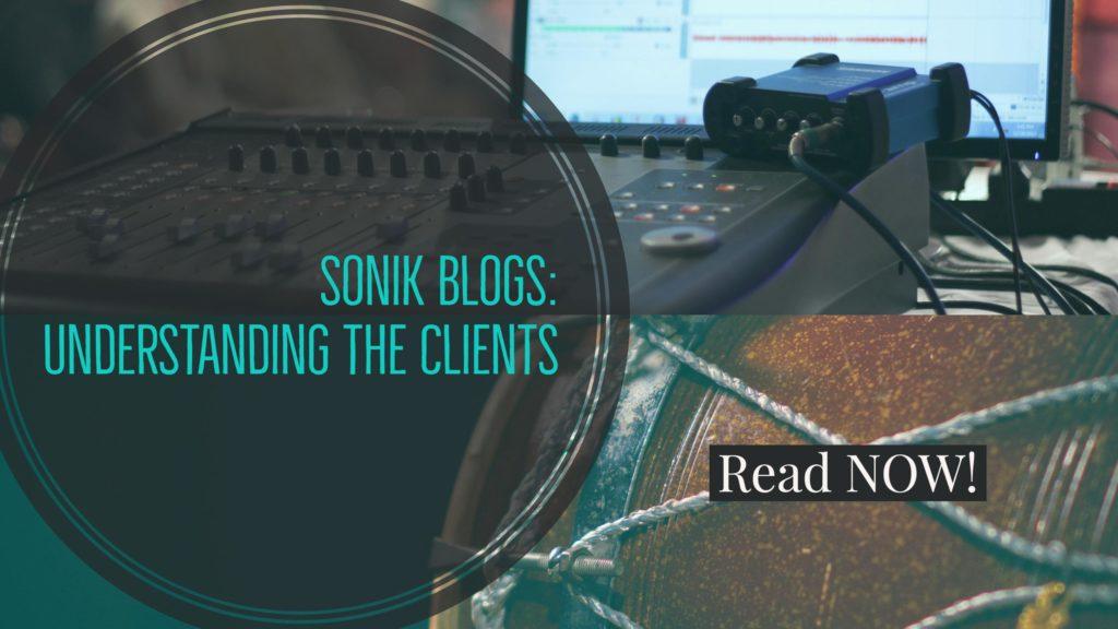 Understanding clients