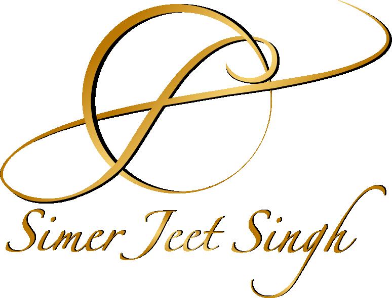 Simerjeet New Logo Gold