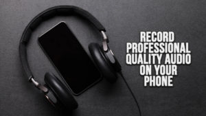 Recording on phone